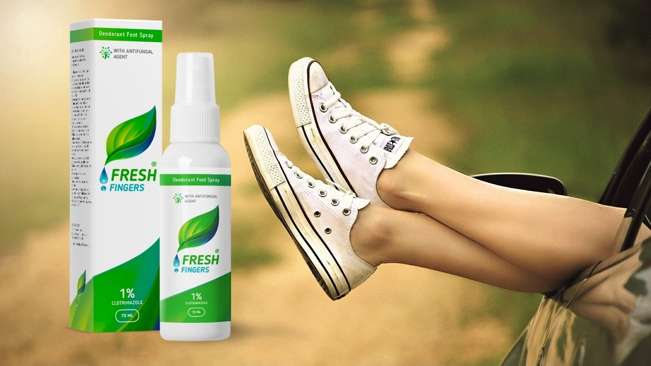 Spray Fresh Fingers pour les pieds : composition, caractéristiques, prix et avis