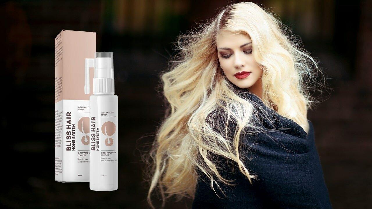 Lotion pour cheveux Bliss Hair : composition, avantages et avis