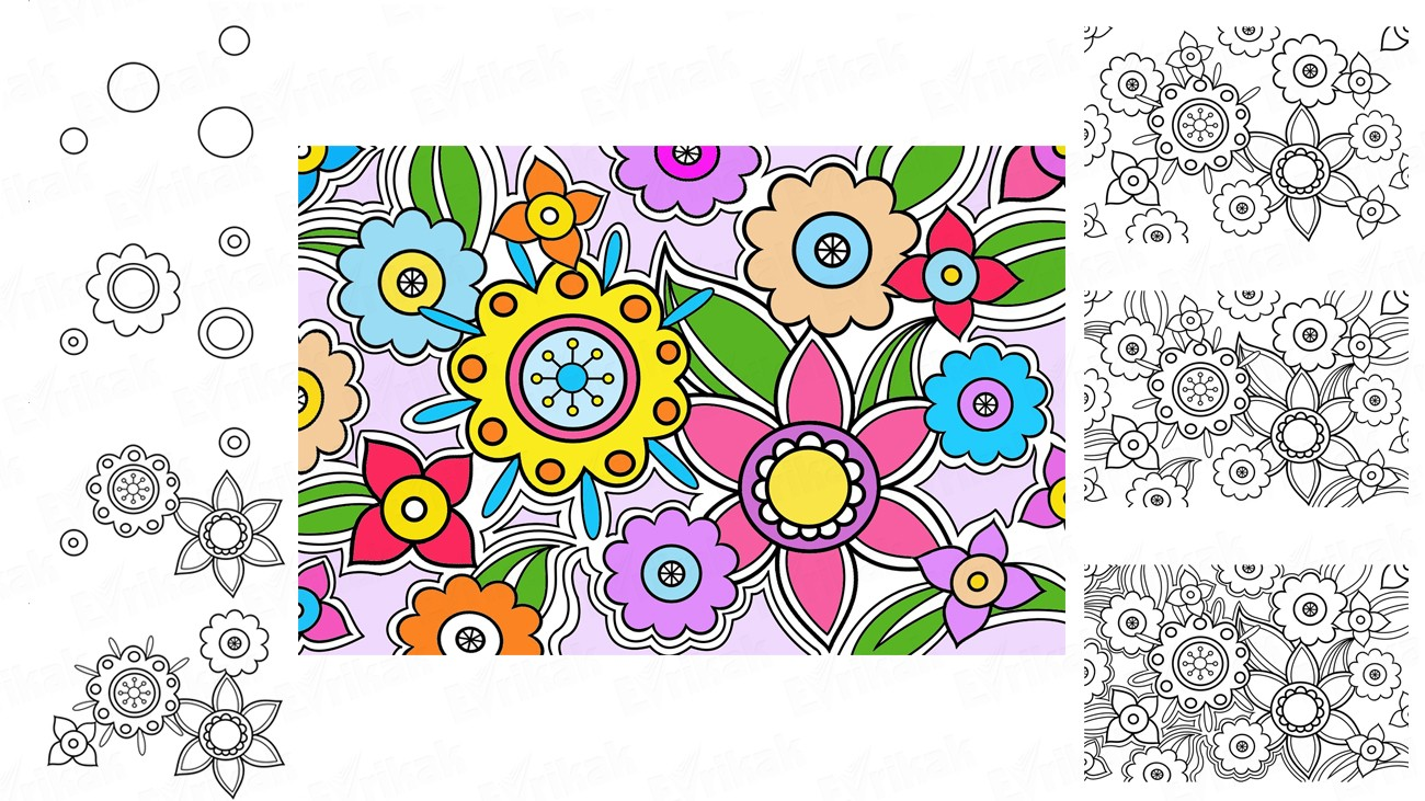 Comment Faire Un Coloriage Anti Stress.Apprenons A Creer Son Propre Anti Stress A Colorier