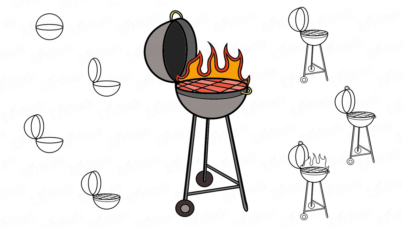 Comment dessiner un barbecue ?
